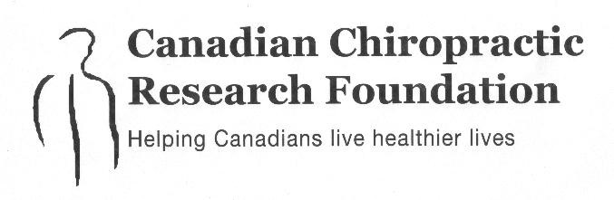 Canadian Chiropractic Research Foundation